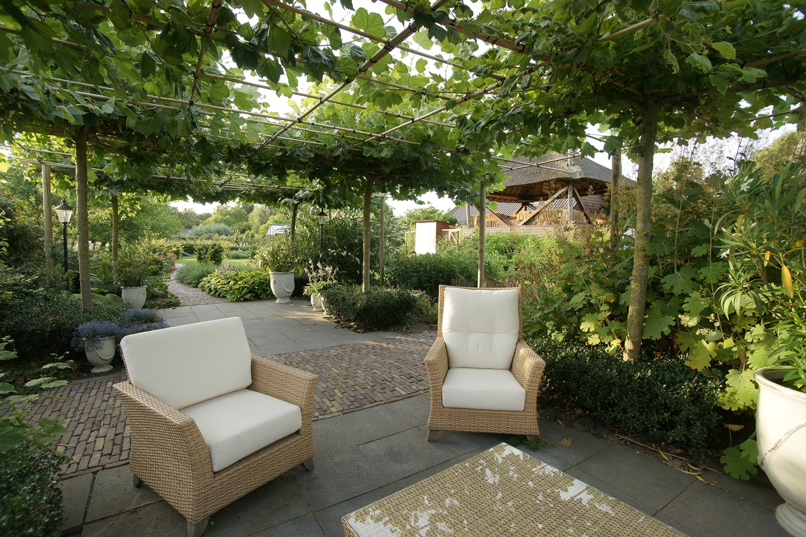 Particuliere tuinen hoveniersbedrijf jonkers for Tuinarchitect kleine tuin