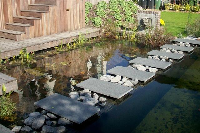 Waterpartij tuin finest beste van water in de tuin graven for Waterpartij in de tuin