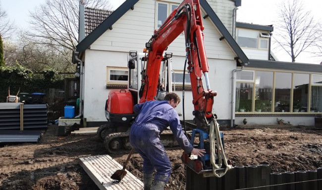 Damwanden bouwkundig werk